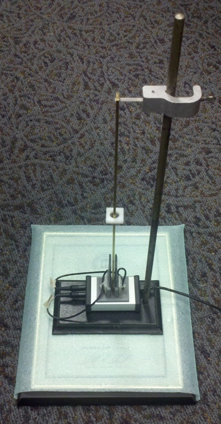 kater's pendulum It is a compound pendulum constructed on the principle that centre of oscillation and centre of suspension are interchangablethe kater's pendulum is used to measure the acceleration due to.