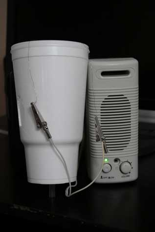 cup and amp